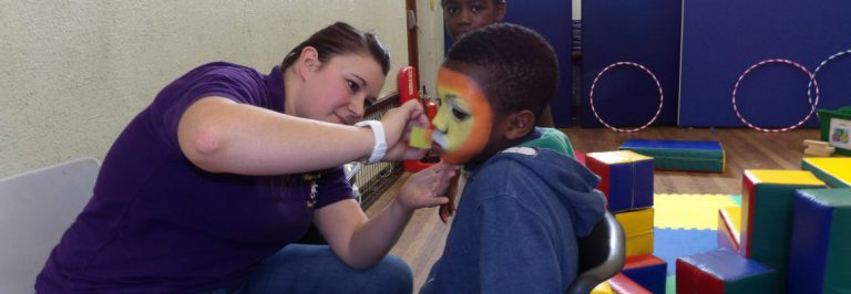 Fun with face painting